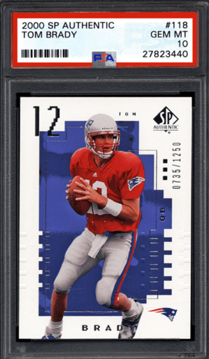 Tom Brady Rookie Card Best Cards And Investment Report