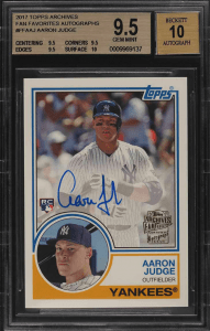 Aaron Judge Rookie Card