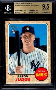What is Aaron Judge true rookie card