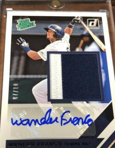 Wander Franco best rookie card