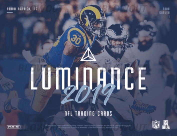 2019 Panini Luminance Football Autograph Jerseys Checklist