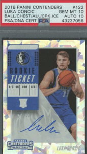 best Luka Doncic rookie card