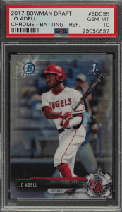 Jo Adell Bowman Chrome
