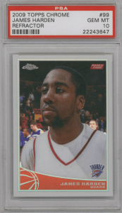 James Harden Rookie Card