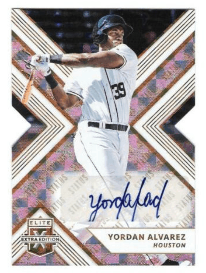Yordan Alvarez Rookie Card Best Cards And Investment Report Gold