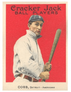 ty cobb Cracker Jack