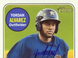 yordan alvarez rookie card ebay