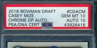 Casey Mize Rookie Card