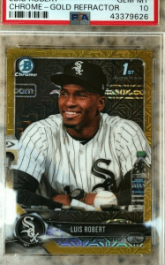 LUIS ROBERTS Bowman Chrome