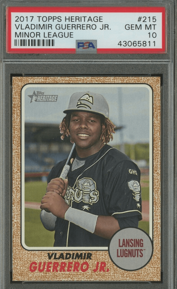 Vladimir Guerrero Jr Rookie Card Best Cards And