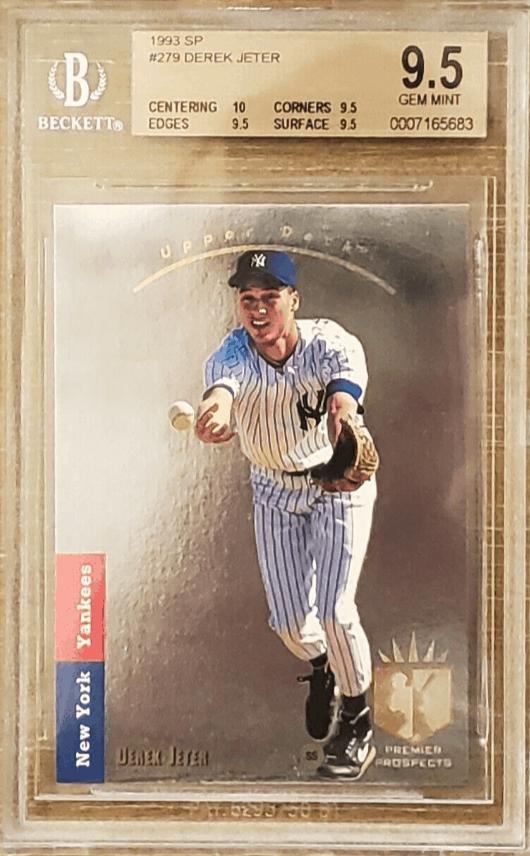 1993 sp derek jeter rookie card value
