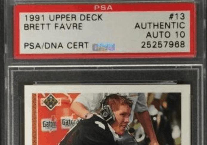 Brett Favre Rookie Card And Investment Report Top 6 Rookie