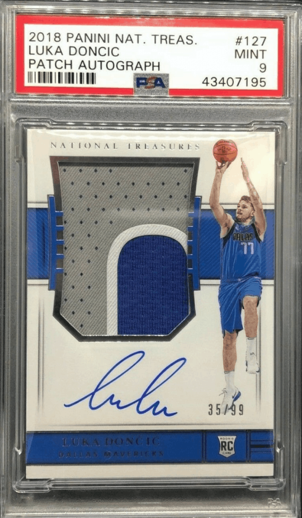 Luka Doncic Panini National Treasures