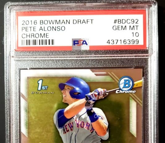 Pete Alonso Rookie Cards
