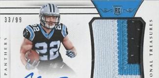 Christian McCaffrey rookie card