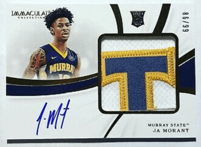 ja morant rookie cards