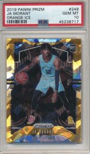 ja morant rookie card