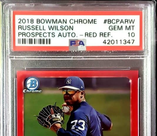 Russell Wilson Rookie Cards