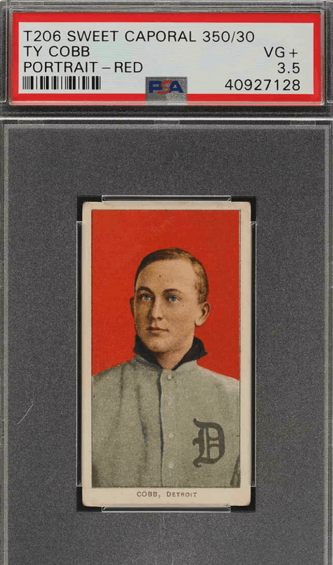 ty cobb rookie cards