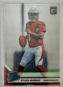kyler murray rookie card donruss