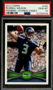 Russell Wilson Topps Rookie Card