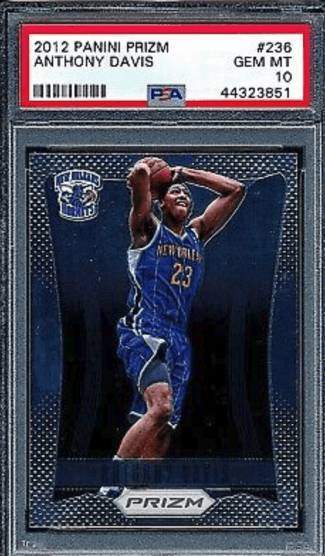 Anthony Davis 2012 Panini Prizm Rookie Card #236
