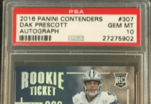 Dak Prescott rookie card