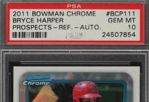 bryce harper rookie card