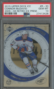 connor mcdavid star rookies card