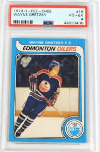 Wayne Gretzky o-pee-chee rookie card