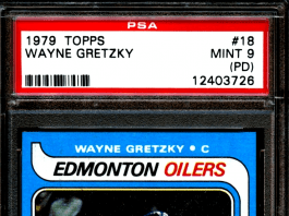 1979 Wayne Gretzky OPC Rookie Card