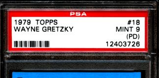 Wayne Gretzky OPC Rookie Card