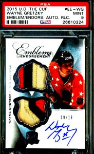 wayne gretzky hockey cards upper deck