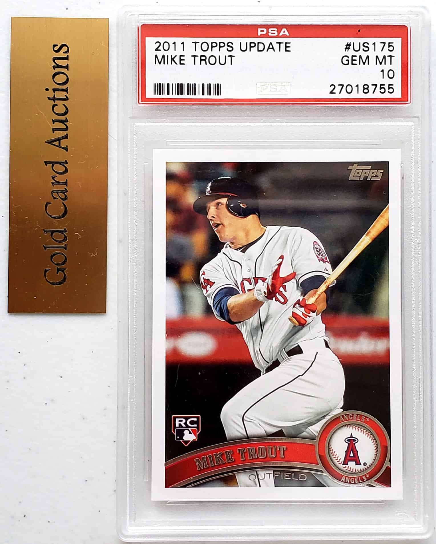 2011 topps update mike trout