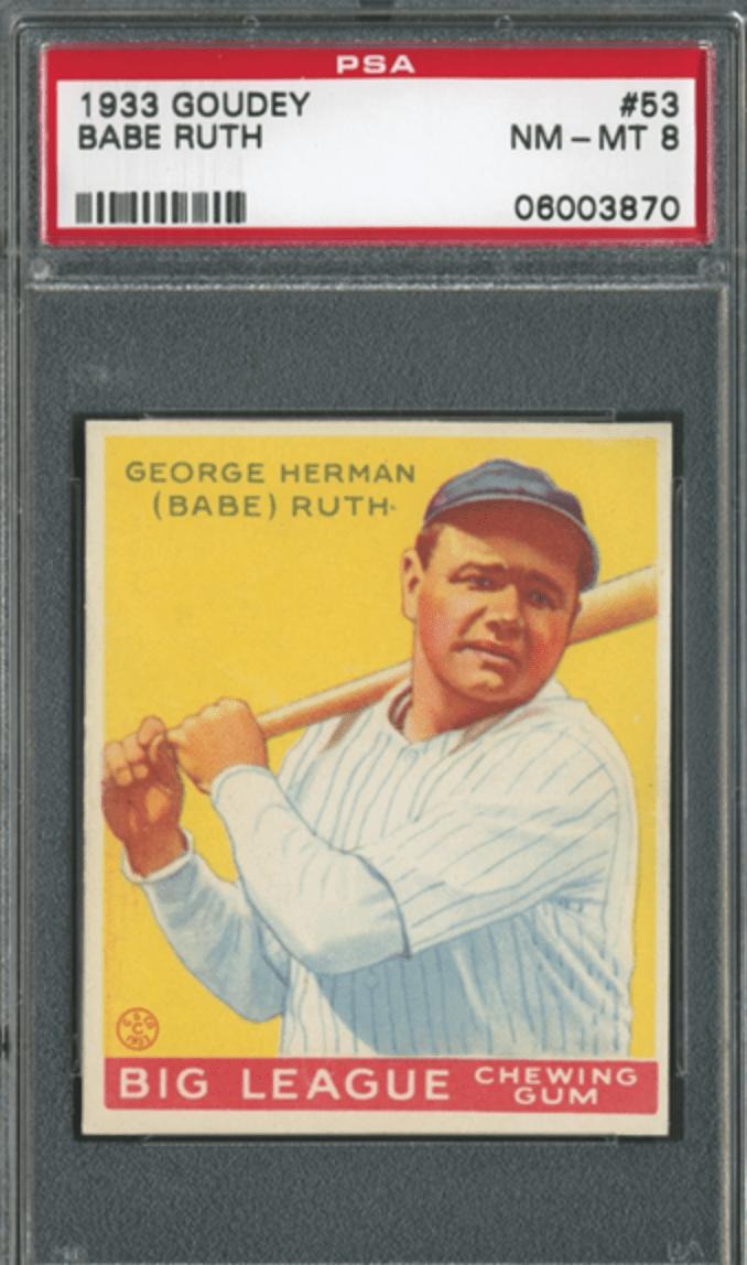 Babe Ruth Rookie Card