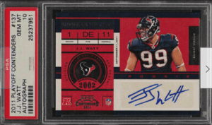 jj watt rookie card