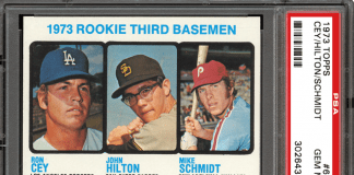 most valuable baseball cards 1970s