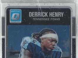 Derrick Henry rookie card