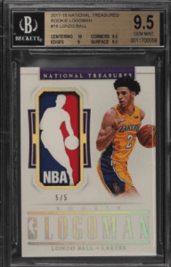 top lonzo ball rookie cards