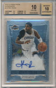 Kyrie Irving rookie cards