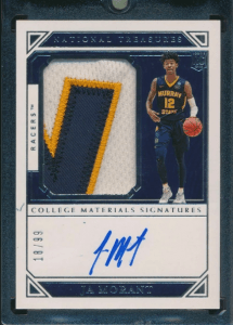 ja morant national treasures card