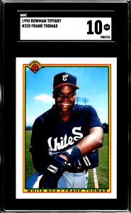 frank thomas rookie card bowman
