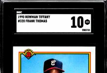 frank thomas rookie card