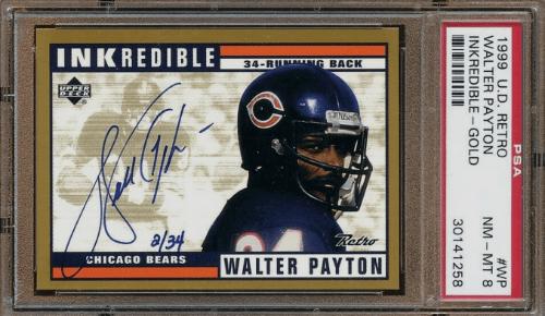 1999 Walter Payton Upper Deck Century