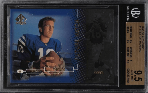 Most Valuable Football Cards 1990s