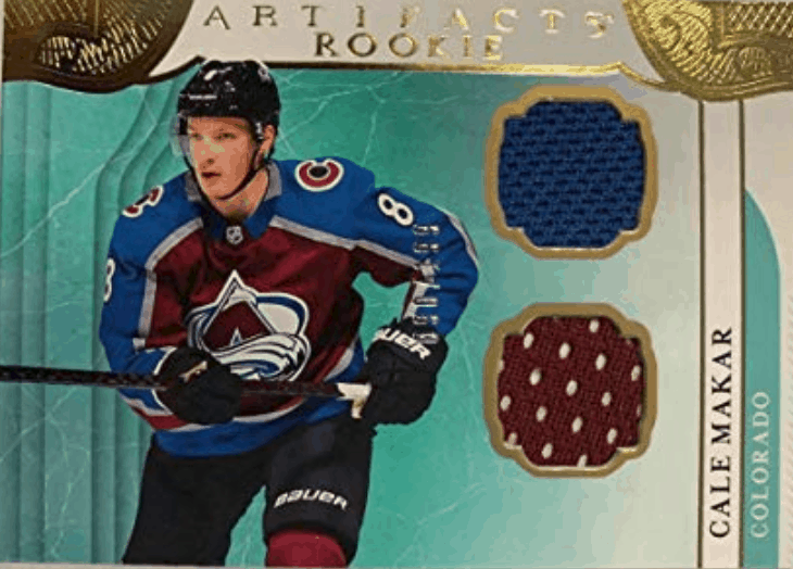 Cale Makar rookie card