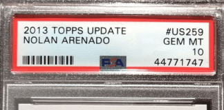 Nolan Arenado Rookie Card