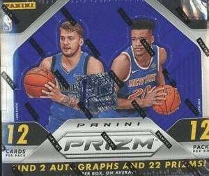 hobby boxes: 2018 panini prizm basketball box