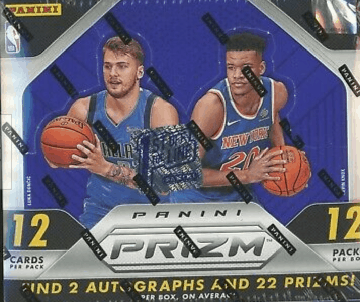 2018 panini prizm basketball hobby box