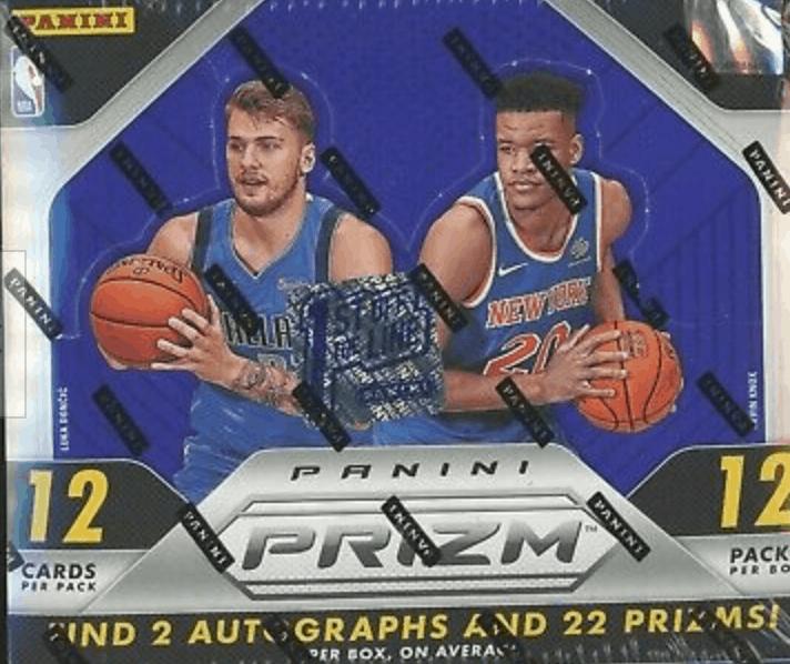 2018 panini prizm basketball hobby box